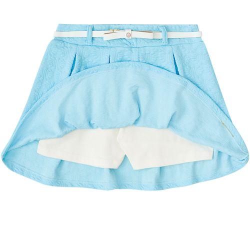 Conjunto Infantil Feminino Regata e Shorts Saia BG/G22091