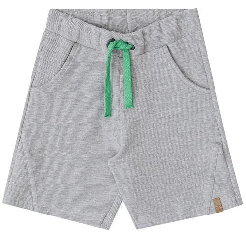 Conjunto Infantil Masculino Camiseta E Bermuda BG/G 31061*