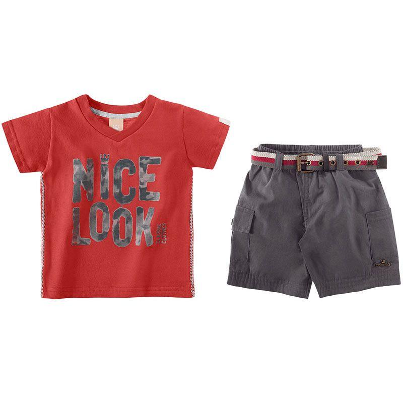 Conjunto Infantil Masculino Colorittá C17634*