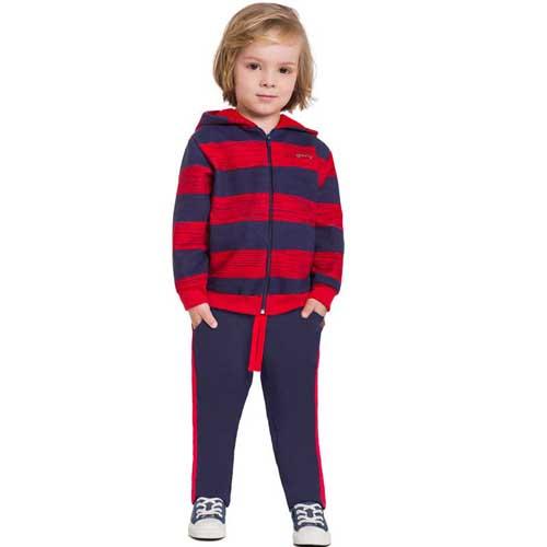 Conjunto Infantil Masculino Jaqueta e Calça Boca Grande BG31071