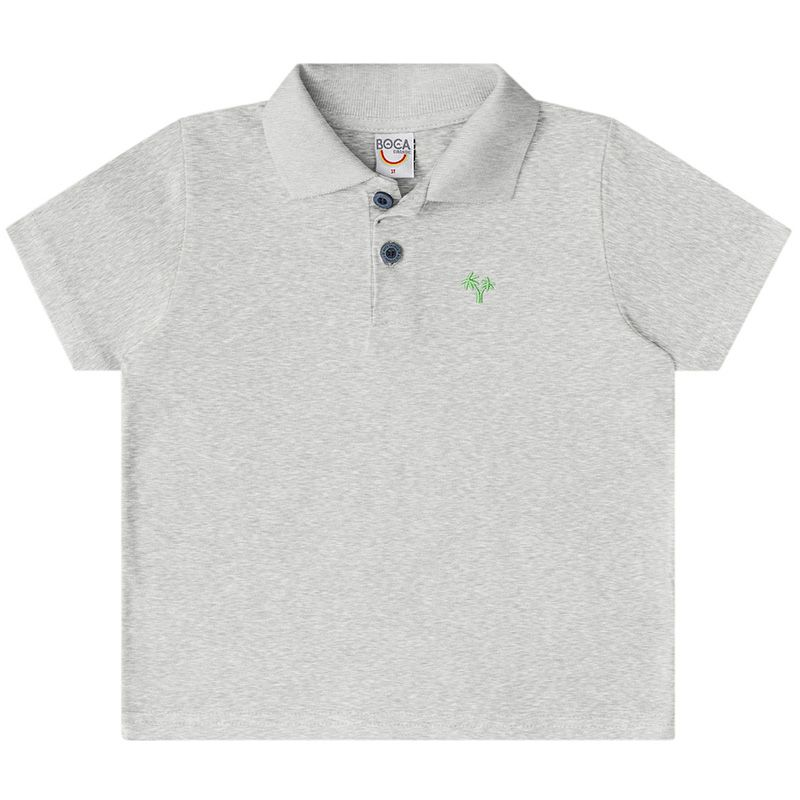 Conjunto Infantil Masculino Polo E Bermuda BG15319*