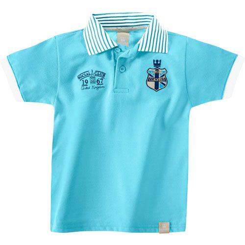 Conjunto Infantil Masculino Polo e Bermuda C17648*