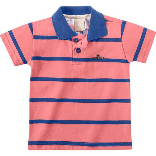 Conjunto Infantil Masculino Verão Polo e Beermuda C17633*