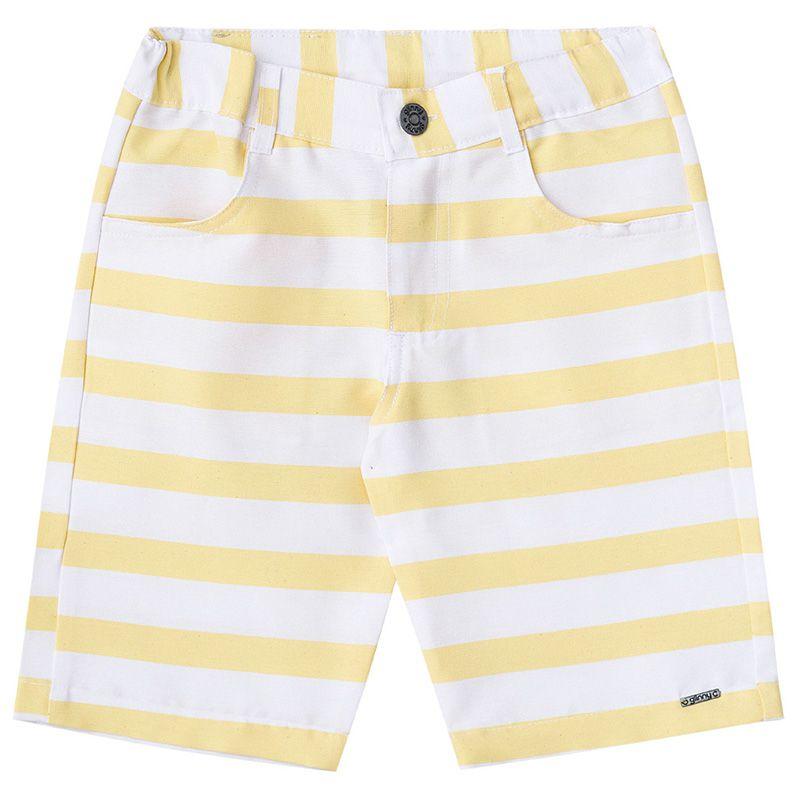 Conjunto Polo E Bermuda Infantil Masculino BG/G45830*