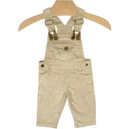 Jardineira Infantil Masculino Cotelê Kidin´s KD7512*