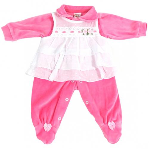 Macacão Infantil Bebê Menina Plush Ki-Baby 731