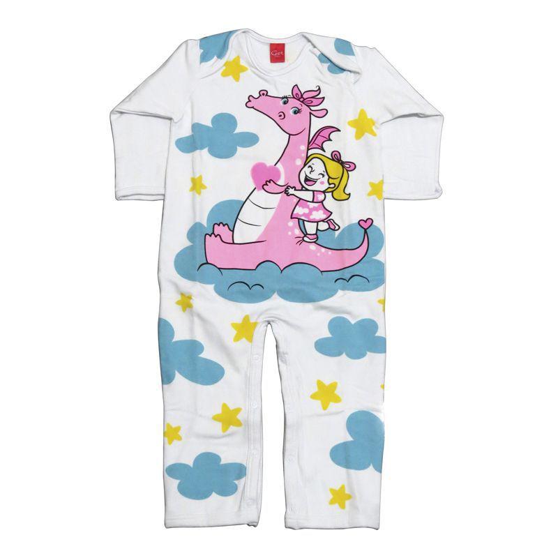 Macacão Infantil Feminino Dragão Get Baby GB213.008*