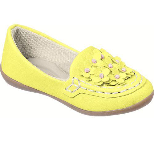 Mocassim Infantil Feminino Amarelo Mimopé MP030.059.008*