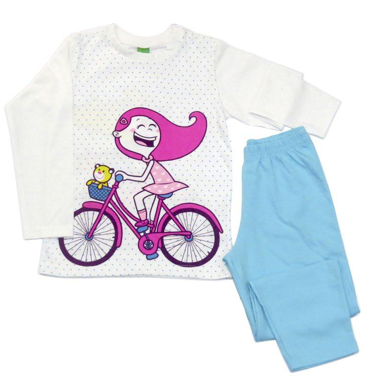 Pijama Infantil Feminino Manga Longa Get Baby GB392.011*