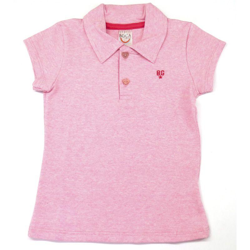 Polo Infantil Feminino Boca Grande BG7437*