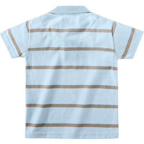 Polo Infantil Menino Azul Colorittá C17645*