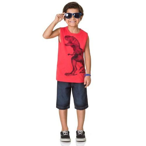 Regata Dino Infantil Menino Boca Grande Masculino BG45704
