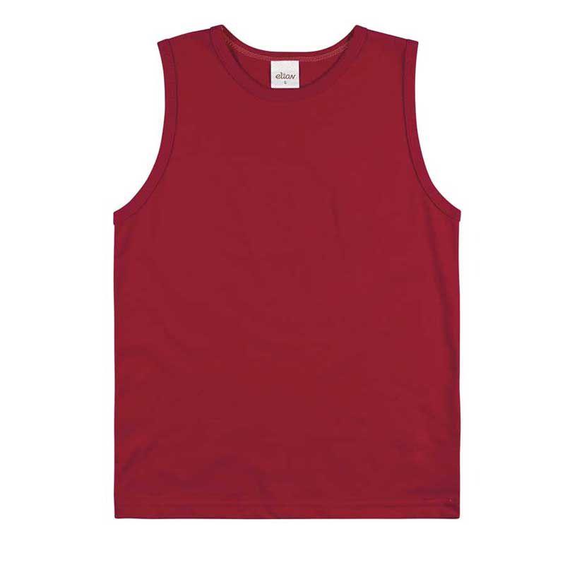 Regata Infantil Masculina Vermelha Elian E28388*