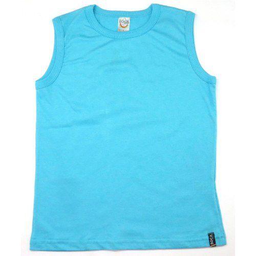 Regata Infantil Menino Boca Grande Camiseta Verão BG7353*