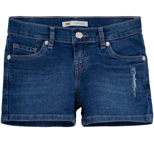 Shorts Levis Infantil Feminino Azul 8519