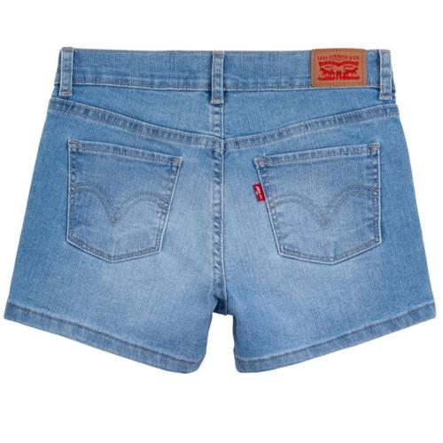 Shorts Levi's Infantil Feminino Azul 8519