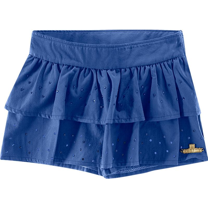 Shorts Saia Infantil Menina Colorittá 17610