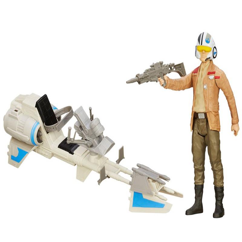 Star Wars Figura e Veículo Speeder Bike Hasbro