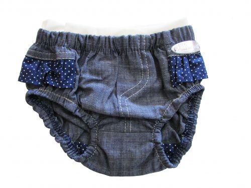Tapa Fralda Infantil Feminino Jeans Pink Kidin?s KD3110*
