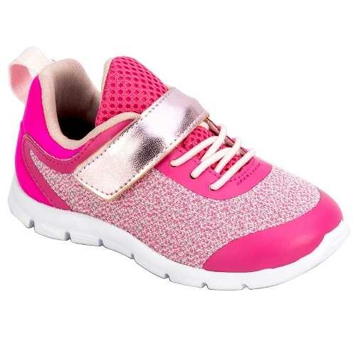 Tênis Infantil Feminino Baby Pink Ortopé O2064884