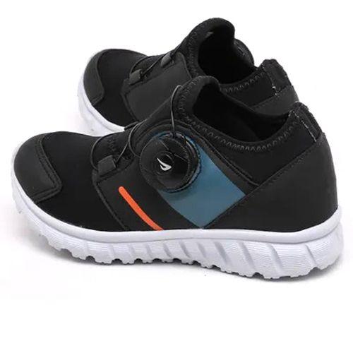 Tênis Ortopé Infantil Jogging College Disk Preto O2158065*