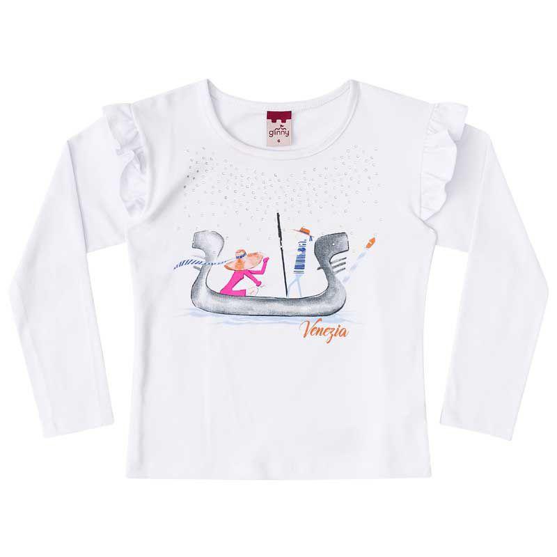 Conjunto Infantil Feminino Baby Look, Legging e Colete de Pêlo BG/G22122