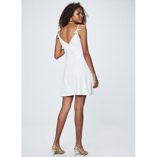 Vestido Feminino Curto Branco Damyller