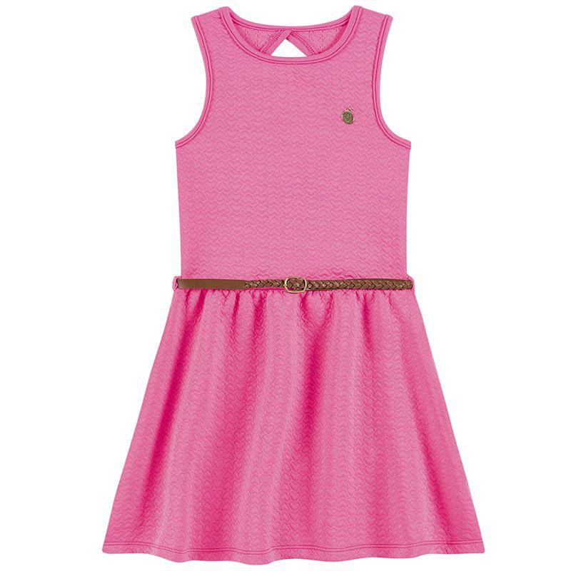 Vestido Infantil Feminino Boca Grande BG41931*