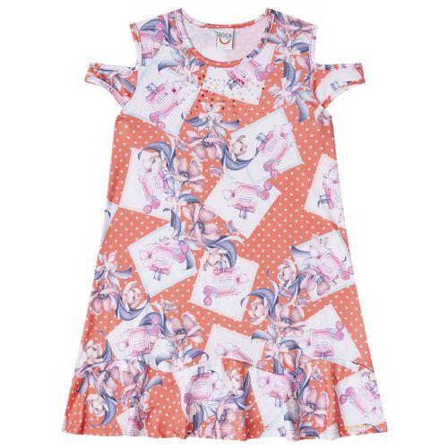 Vestido Infantil Feminino Boca Grande BG42387