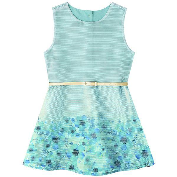 Vestido Infantil Feminino Boca Grande BG/G42222