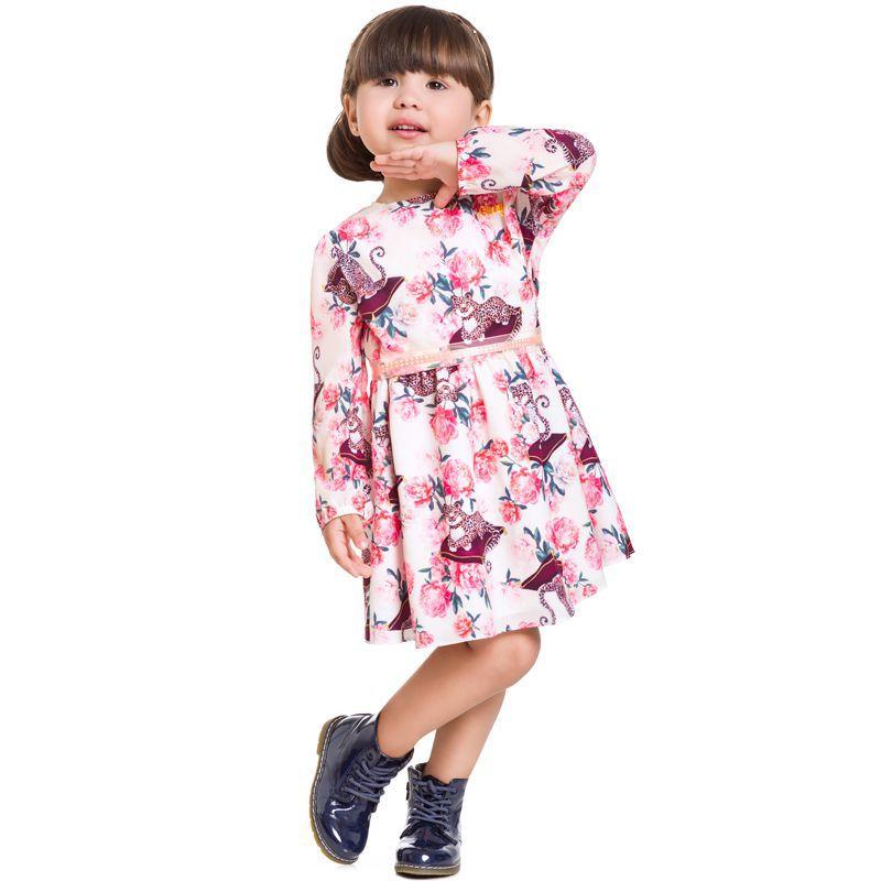 Vestido Infantil Feminino Inverno BG/G21070