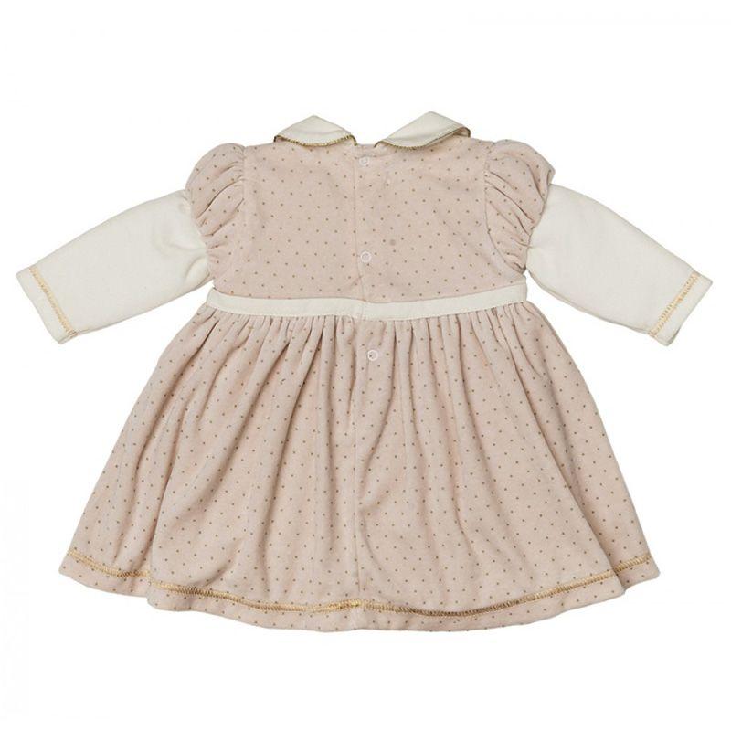 Vestido Infantil Feminino Inverno Plush Zig Mundi ZM0117*