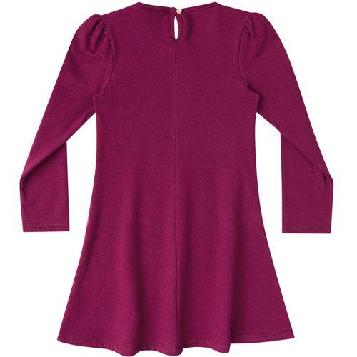 Vestido Infantil Feminino Molecotton Felpado BG/G22119