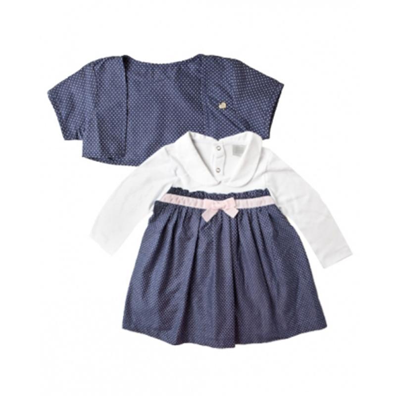 Vestido Infantil Menina Poa Zig Mundi 0114