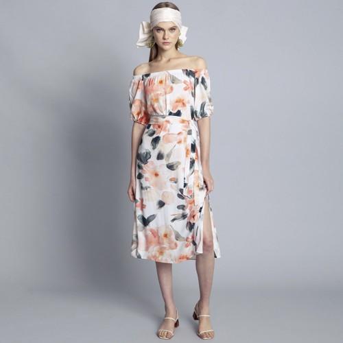 Vestido Tecido Rayon Bali Cha Lez a Lez