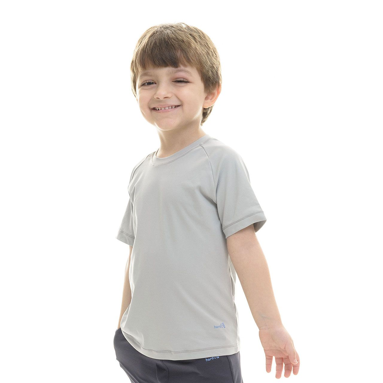 CAMISETA UNISSEX INFANTIL MANGA CURTA PROTEÇÃO UV 50+