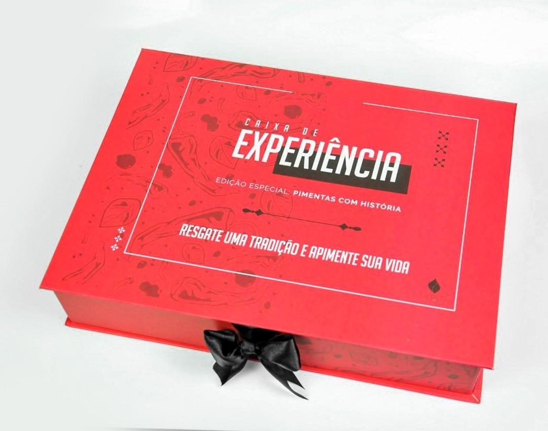 Caixa de Experiência Edição Especial: Pimentas com História