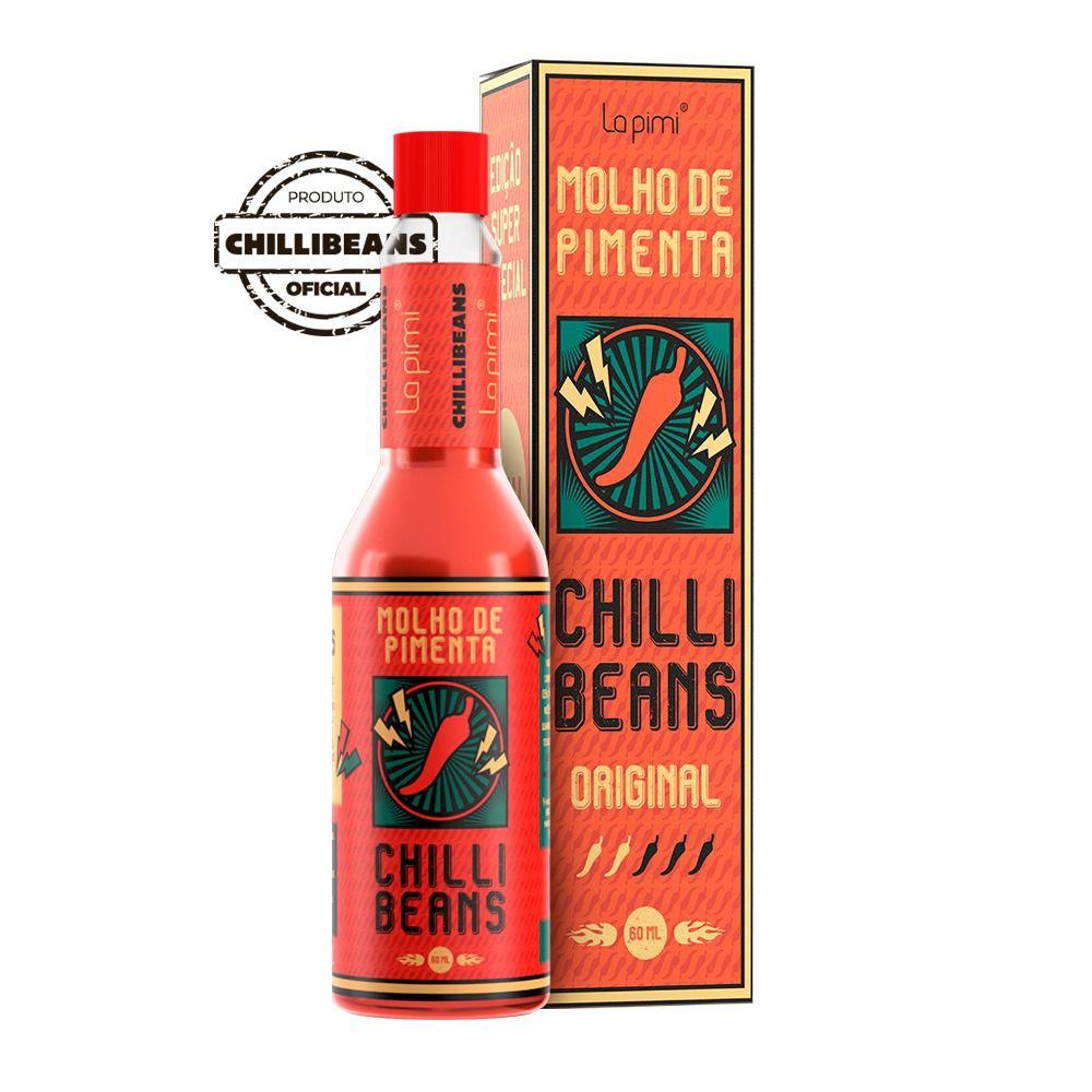 Kit com 3 Molhos de Pimenta Chilli Beans Original - La pimi