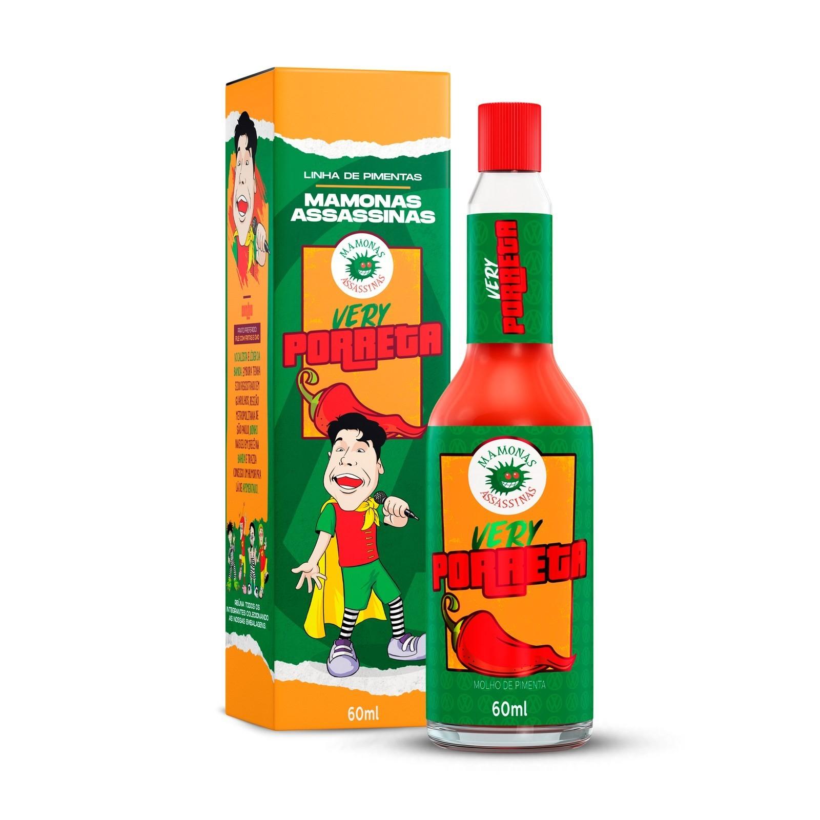 Molho de Pimenta Mamonas Assassinas - Very Porreta 60 ml (Dinho)