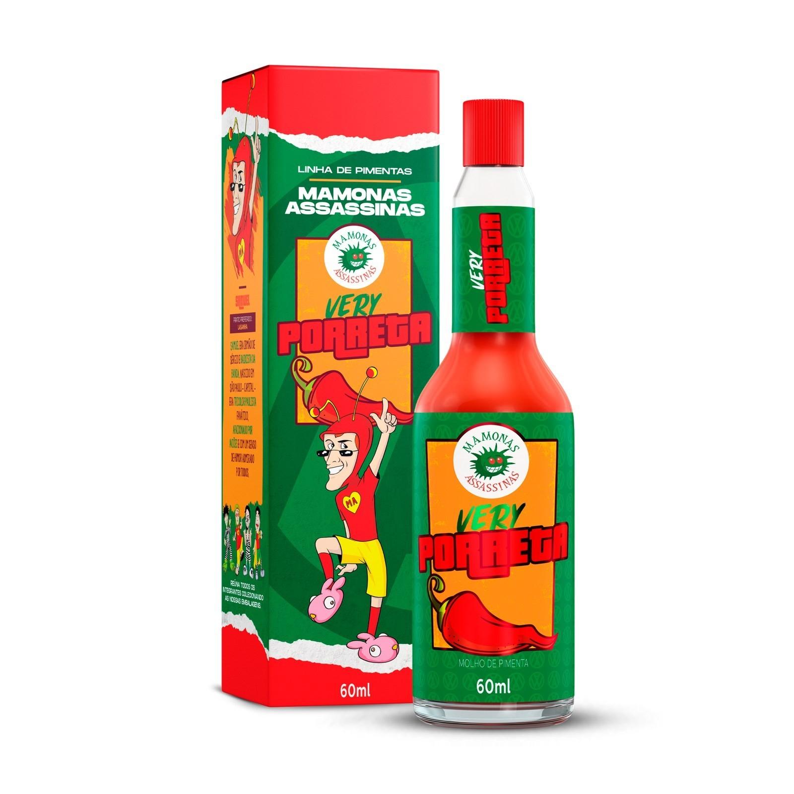 Molho de Pimenta Mamonas Assassinas - Very Porreta 60 ml (SAMUEL)