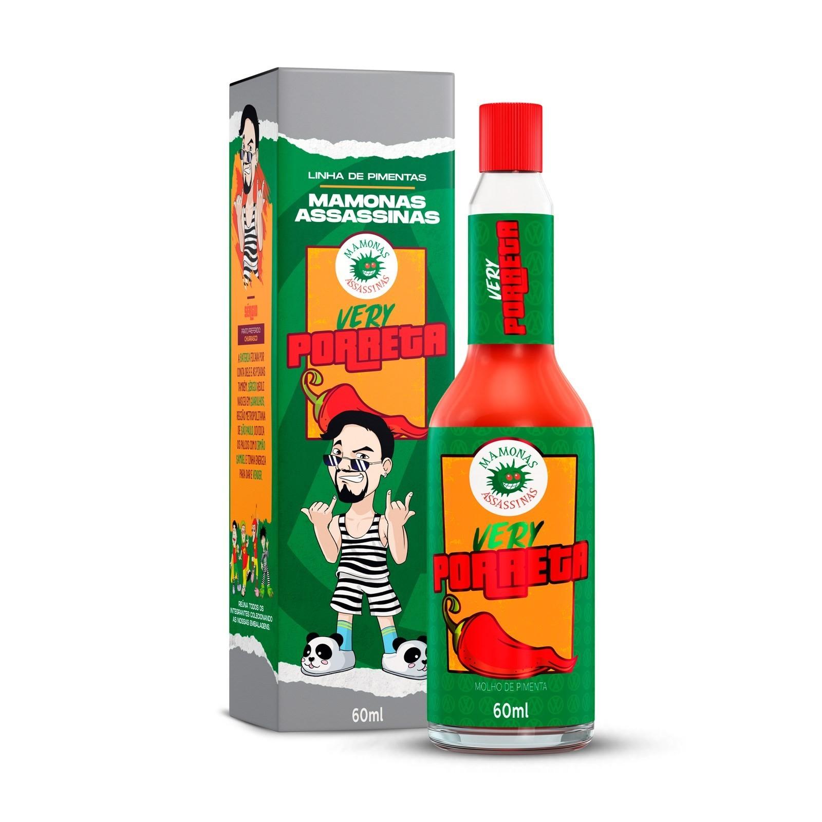 Molho de Pimenta Mamonas Assassinas - Very Porreta 60 ml (SÉRGIO)