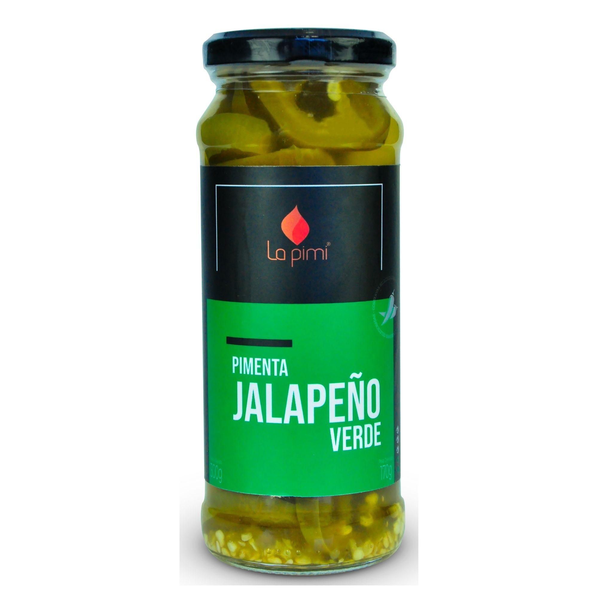 Pimenta Jalapeno Verde em Conserva  La pimi