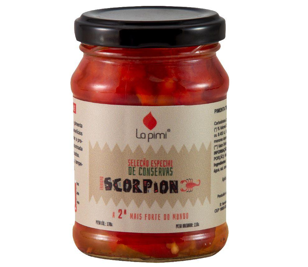 Pimenta Trinidad Scorpion em Conserva 80g La pimi