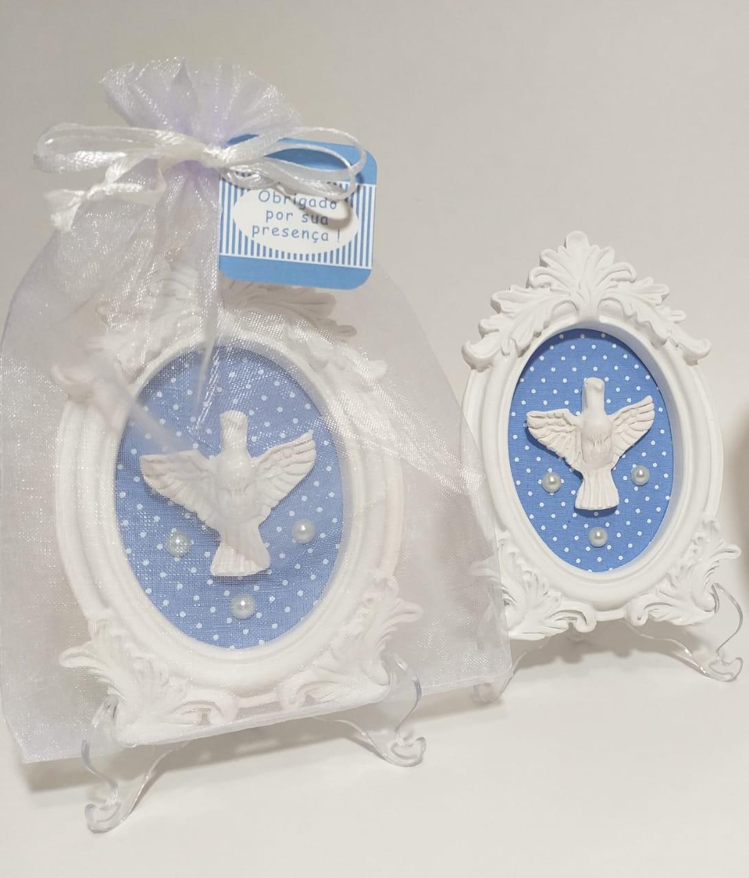 Quadro Lembrancinha Personalizada Você Monta os Opcionais - Lembrança de Batizado Nascimento Pronta Entrega
