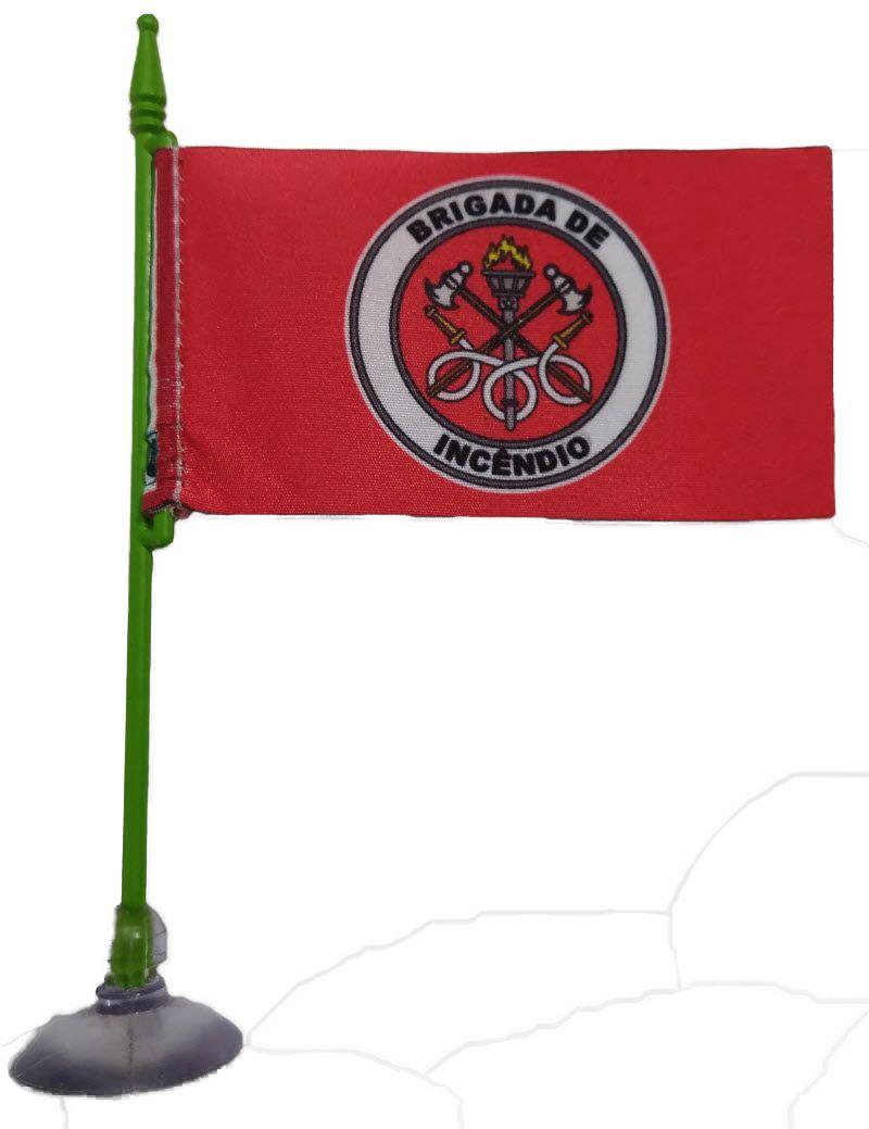 Bandeirinha Brigada de Incêndio, com ventosa  - CONEXÃO EPI´S E UNIFORMES PROFISSIONAIS