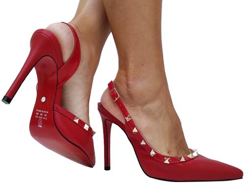 Chanel np vermelho salto 11cm Cód.668