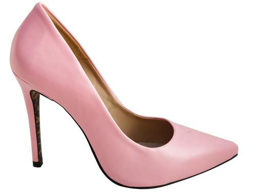 Scarpin np rosa salto 11cm   Cód.: 768