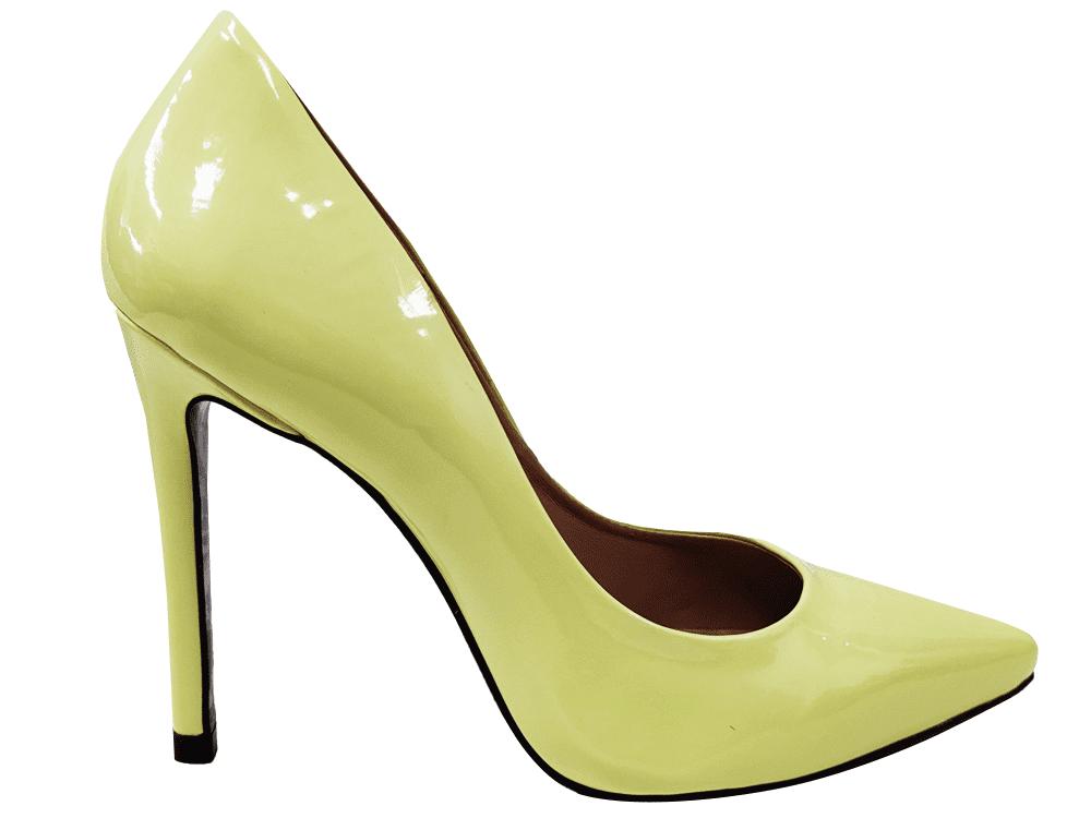 Scarpin verniz lemon salto 11cm   Cód.: 1497