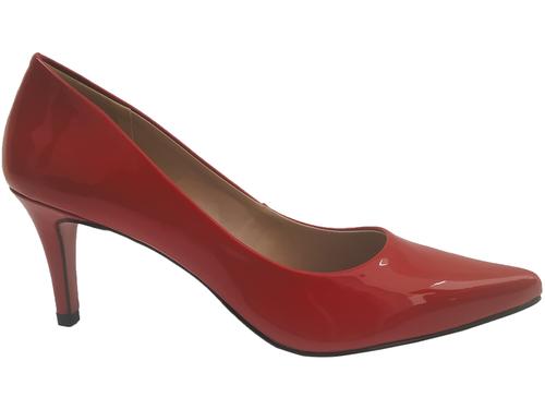 Scarpin vz vermelho  7cm Cód.: 789