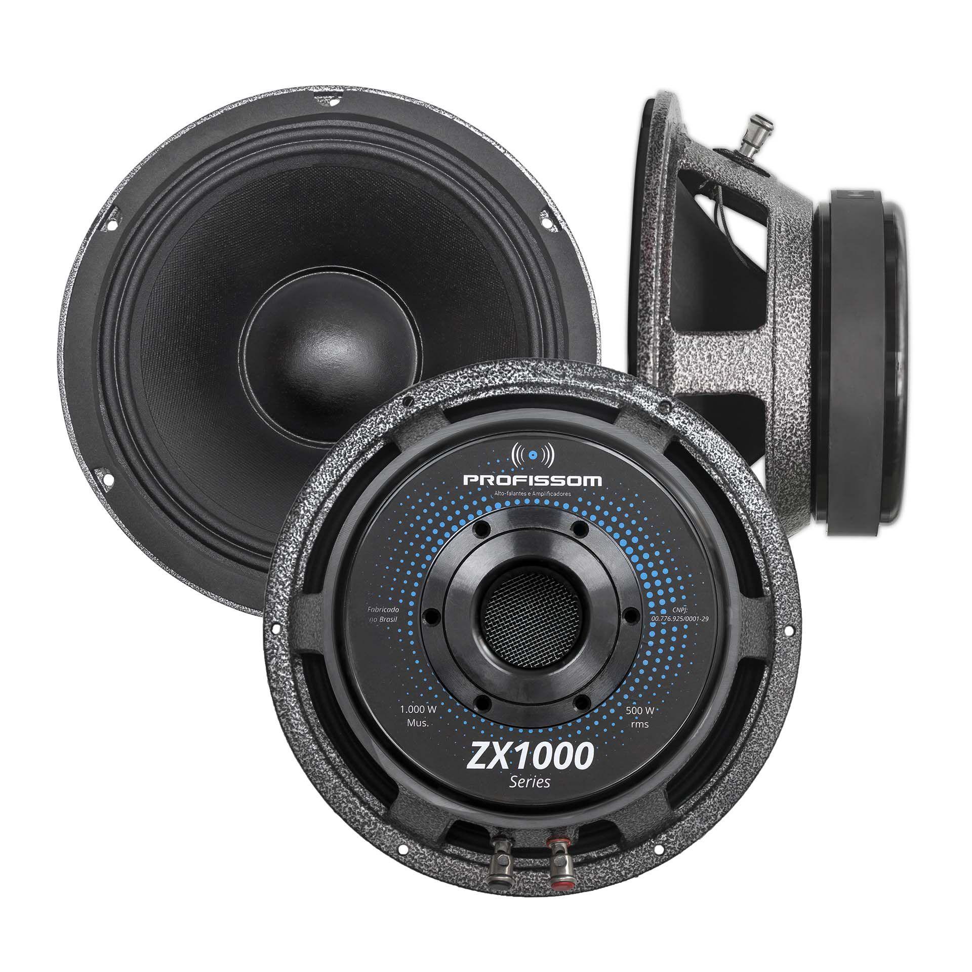 Alto-falante Profissom 10ZX1000.8